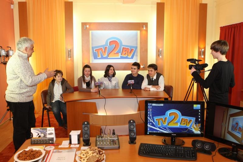 Elevii au debutat în munca de jurnalist. Foto: Adevărul