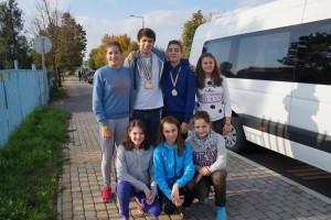 1. copiii clubului CSM Brasov