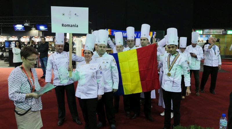 Deschiderea Olimpiadei de gastronomie Erfurt 2016