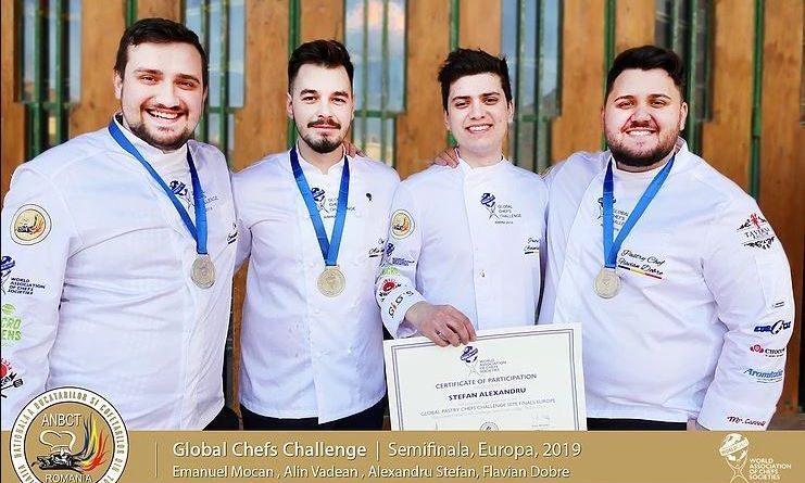 Rezultat de excepție obținut de echipa reprezentativă a României la Chefs Global Challenge